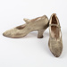 Shoes, Heeled 1920s Women's Dress Shoe; Unknown maker; 1920-1930; WY.1990.203.1
