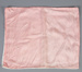Pillow Case, Baby's Pink Viscose; Hall, May; 1940-1950; WY.2004.84.4