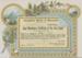 Certificate, Good Attendance; Unknown printer; 20.12.1907; WY.2006.10.3