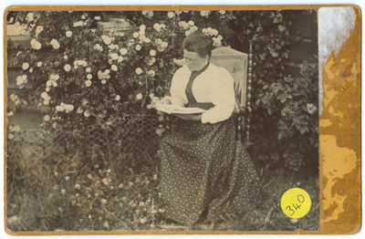 Photograph,  Mrs D Stockwell ; Unknown photographer; 1880-1890; WY.0000.65