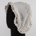 Bonnet, Child's Victorian Broderie Anglaise; Unknown maker; 1850-1860; WY.2019.2.6