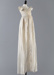 Christening Gown, Ayrshire Whitework; Unknown maker; 1840-1850; WY.2019.2.1