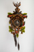 Clock, Wooden Painted Cuckoo; Unknown manufacturer; Unknown; WY.2006.39.1