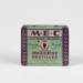 Medicine, 'M.E.C. Medicated Pastilles' Tin; Romisons Confectionary Ltd.; 1937-1946; WY.0000.456