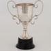 Trophy, Dey Cup Best Highland Dress; Van De Water; Unknown manufacturer; 1990; WY.2001.17.4