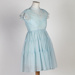 Dress, Child's Blue with Lace Details; Hardy, Chrissy; 1950-1960; WY.0000.501