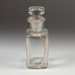 Bottle, Small Square Medication; Unknown manufacturer; Unknown; WY.1996.59.54