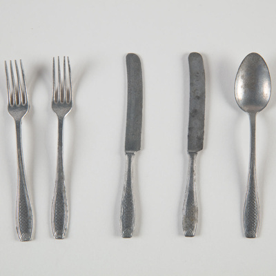 Toys, Cutlery; Unknown manufacturer; 1950-1960; WY.0000.512