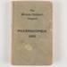 Book, Adelaide Children's Hospital Pharmacopoeia; Adelaide Children's Hospital; 1956; WY.2002.11