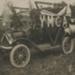 Photograph, Ford Model T 1916-17, Y M C A ; Clayton; 1916-1917; WY.1989.412.1