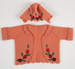 Doll's Clothing, Felt Bonnet and Coat; Hall, May; 1946-1947; WY.2004.73