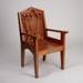 Chair, St Mary's Bishop; Davey, Ruby Irene Eunice; 1958; WY.2007.29.6