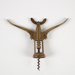Corkscrew, Brass; Unknown manufacturer; Unknown; WY.1993.40.2