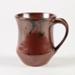 Mug, Brown Glazed Ceramic; Shields, Heather; 1970-1980; WY.2006.32.7
