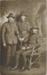 Postcard, Three Soldiers in Uniform; Unknown; 1914; WY.2000.41.1