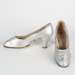 Shoes, Silver Heels; Unknown maker; Unknown; WY.0000.124.1