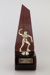 Trophy, Menzies Table Tennis Under 18 Boys ; Unknown manufacturer; 1984; WY.1997.27.9