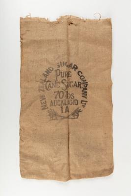 Bag, New Zealand Sugar Company; New Zealand Sugar Company; 1920-1930; WY.0000.499