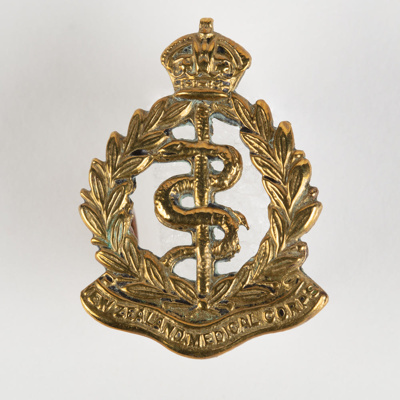 Badge, Military New Zealand Medical Corp; Unknown manufacturer; 1914-1918; WY.2000.12.4.14