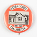 Badge, Redan School 75th Jubilee 1885-1960; Unknown manufacturer; 1960; WY.2000.15.9