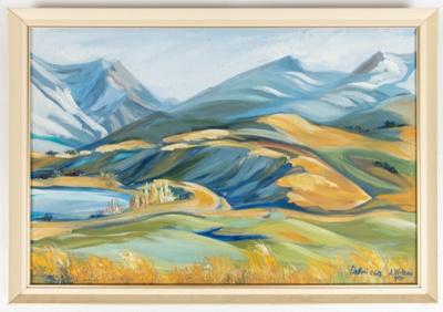 Acrylic Painting, Framed Patricia Wilson; Wilson, Patricia; 1977; WY.0000.922