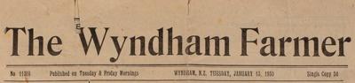 The Wyndham Farmer, 1953 Editions; 1953; WY.0000.671