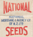 Bag, National Mortgage & Agency Co of NZ Seed; National Mortgage & Agency Co of New Zealand; 1930-1940; WY.0000.354