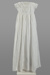 Christening Gown, Whitework; Unknown maker; 1840-1850; WY.2017.1