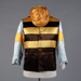 Racing Silks, Gold Brown Stripe; Genge Court's; 1960-1970; WY.0000.735