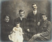Photograph, Framed Williams Family; Unknown photographer; 1914; WY.1989.515.1