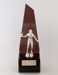 Trophy, Menzies Table Tennis Ladies Singles; Unknown manufacturer; 1984; WY.1997.27.3