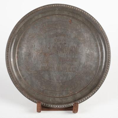 Tray, William Irvine General Merchant; Unknown manufacturer; Unknown; WY.1996.64.13