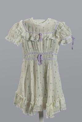 Dress, Child's; Unknown; 1870-1920; WY.T355