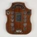 Trophy, LMVPDS Melvin Challenge Shield; Unknown manufacturer; 1965; WY.2001.17.21