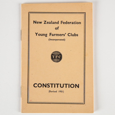 Archives, Wyndham Young Farmers Club 1951-1985 ; 1951-1985; WY.0000.586