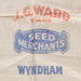Bag, J.G. Ward & Co Seed; J.G. Ward & Co; 1930-1940; WY.0000.369