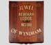Board, Rebekah Lodge Past Grands; Clearwater Signs; 1952-2000; WY.0000.1379