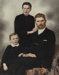 Portrait, Framed Botting Family; Unknown photographer; 1890; WY.1988.29