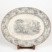 Plate, Meat with River Scene; R Hammersley and Son; 1890-1900; WY.1988.175