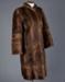 Fur Coat, Variegated Musquash ; Pattison Ede; 1950-1960; WY.2013.7