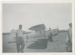 Photograph, Aeroplane at Menzies Ferry; Unknown photographer; 1950-1960; WY.1994.40.2