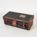 Trunk, Leather Bound; Unknown manufacturer; 1880-1890; WY.1989.499