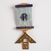 Medal, Mokoreta Masonic Lodge J. Rogers; Unknown manufacturer; 1908; WY.0000.606
