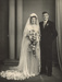 Photograph, Geary-Wright Wedding; Campbell's Studios; 22.04.1949; WY.2016.6.2