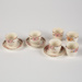 Egg Cup Set, with Saucers; J. & G. Meakin; 1910-1920; WY.2004.32