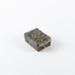 Trinket Box, Small Silver Bamboo Embossed; Nippon Toki Kaisha; 1891-1921; WY.0000.179