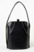 Handbag, Stiff Black; Strandbags; 1960-1970; WY.0000.260