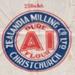 Bag, Zealandia Milling Co Pure AI Flour 25Ibs; Zealandia Milling Company; 1920-1930; WY.1988.203