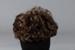 Wig, Short Brown Curls ; Dynel; 1970-1980; WY.2008.18