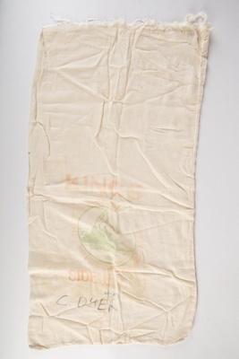 Bag, Kings Mitre Peak Side Bacon; King's, Mitre Peak; 1930-1940; WY.1990.153.5